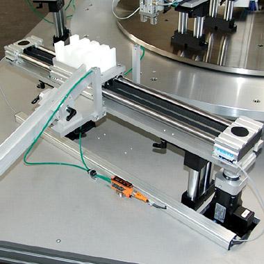 Tampondruckmaschinen für die Kosmetikindustrie