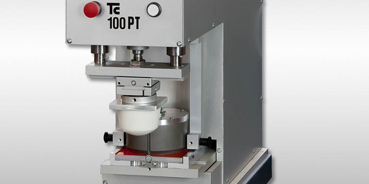 Pneumatische Tampondruckmaschinen von TAMPONCOLOR