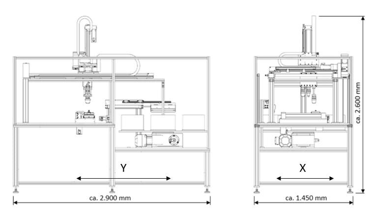 TC Portaldruck Maße