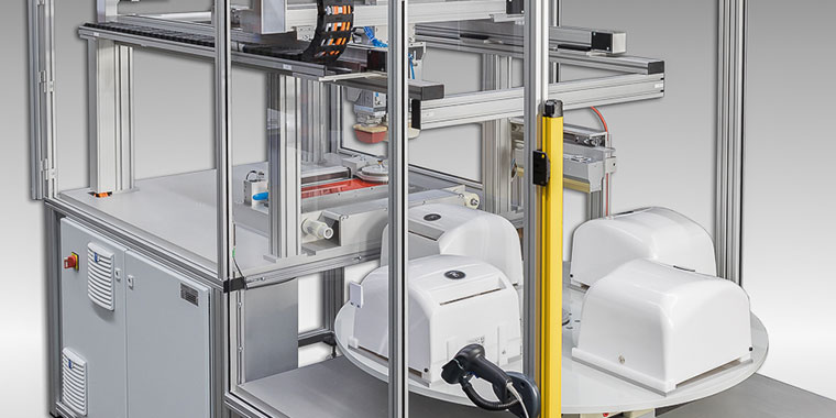 Kompaktes, modulares Design, nach Kundenwunsch konfiguriert