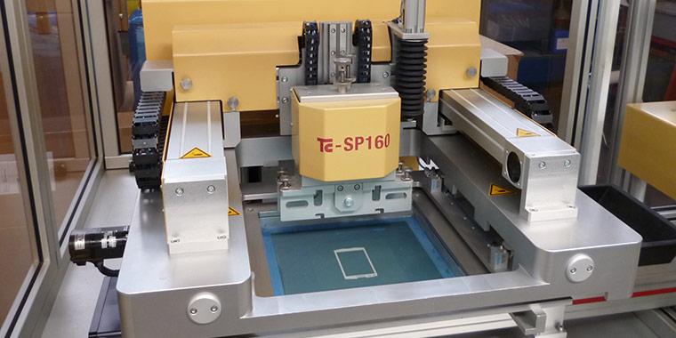 Hochpräzisions-Siebdrucker TC SP-160