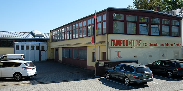 TAMPONCOLOR, Tampondruckmaschinen aus Deutschland