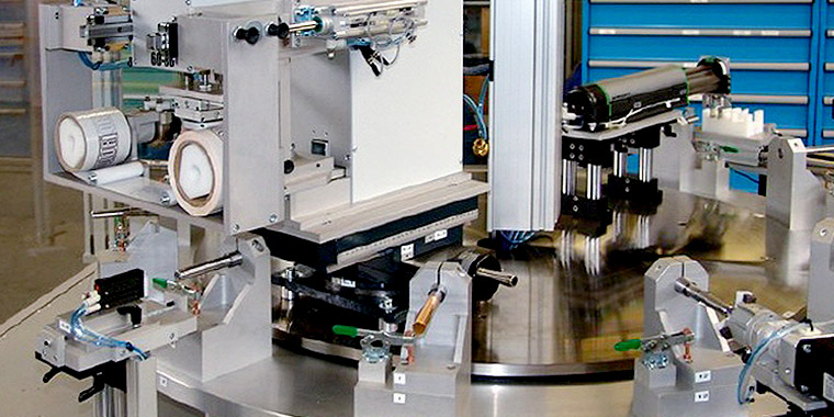 Pad printing machines for the cosmetics industry