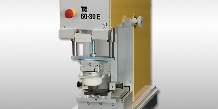 Electromechanical pad printing machines