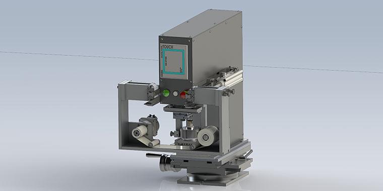 TC Tampondruckmaschine für medizintechnische Anforderungen